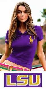 Polo Ralph Lauren Womens Big Pony Polo with embroidered School Logo