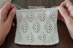 Hey Girls This Pattern Is So Cool ! - All Knitting Videos - Maria Knitting Room, Knitting Videos, Filet Crochet, Crochet Lace, Learn How To Knit, Knitted Slippers, Baby Knitting Patterns, Free Pattern, Diy And Crafts