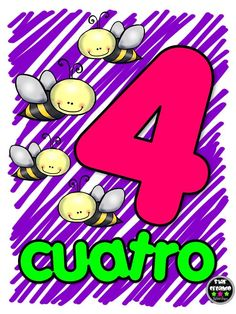 Números 1-10 DE Star Leyva (4) Activities For 2 Year Olds, Preschool Learning Activities, Toddler Activities, Preschool Spanish, Spanish Lessons For Kids, Spanish Games, Learning Numbers, Math Numbers, Numbers 1 10