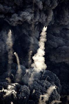 lava bombs.
