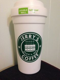 Birthday starbucks cup