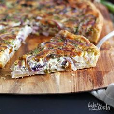 Herbs & Onion Quiche   Bake to the roots