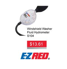 #EZRED #WindshieldWasherFluid #Hydrometer #Sale #Discount #HamiltonAutoParts #DiscountedAutoParts #Hamilton #AADiscountAuto Do you own a Washer Fluid Hydrometer? Get a EZRED Windshield Washer Fluid Hydrometer for only $13.61 until Jan 31, 2016. This offer is while supplies last and no rain checks. Please ask staff for details. Hydrometer features: - Tests methanol solutions - Temperature compensating - Obtain direct, accurate readings - Wide range: +32°F to – 60° F - Fahrenheit & Celsius…
