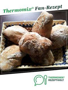 Rustico Weckla (Brötchen) von Blomenhof. Ein Thermomix ® Rezept aus der Kategorie Brot & Brötchen auf www.rezeptwelt.de, der Thermomix ® Community.