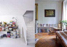 Upphängd bokhylla