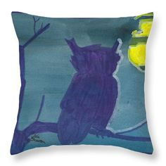 Want to buy this pillow? Click on the title or follow this link:  https://fineartamerica.com/featured/fenwyck-frizzle-ear-ali-baucom.html?product=throw-pillow