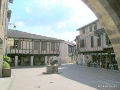 2005 Castelnau de Montmirail Beaux Villages, Houses, Homes, House, Computer Case, Home