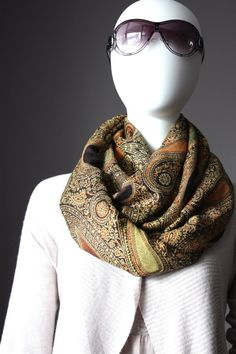 Hand Of God Winter Scarf Fashion Formal Soft Scarves For Men And Women