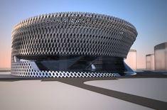Madrid Civil Courts of Justice. Zaha Hadid Architects