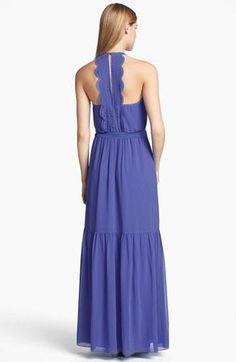 Obsessed with the back of this Jessica Simpson maxi dress.