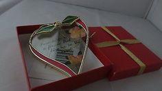 NIB-Friendship-Heart-Art-Glass-Ornament