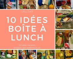 lunch idées enfants faciles exemples photos Boite A Lunch, Bento Box Lunch, Voici, Jasmine, Photos, Parenting, Vegetarian Kids, Snacks, Kitchens