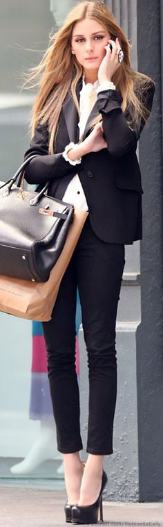 Street Style | Olivia Palermo // she just knows how to perfectly dress up...
