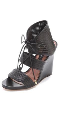 Derek Lam Brooklynn Wedged Sandals | SHOPBOP
