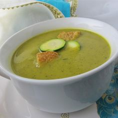 Curried courgette soup @ allrecipes.co.uk