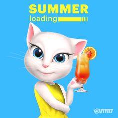SUMMER loading in 3, 2, 1 .. NOW!  ♥ xo, Talking Angela #TalkingAngela #sun #summer #firstdayofsummer #MyTalkingAngela #LittleKitties  #firstsummerday #sunandfun #fun #ootd #cute