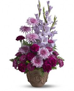 Teleflora's Heartfelt Memories Flowers $89.95