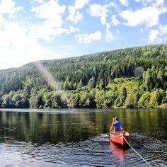 On the other side... #Memories  #grammasters3  #Sweden  #romantic  #adventure  #river  #nature  #naturelovers  #neverstopexploring  #travelgram  #travel  #wanderlust  #travelporn  #picoftheday  #bestoftheday  #kayak  #landscape  #landscapelovers @netflix by chris_voyage #travel