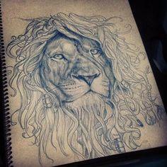 4b2fcafbc Lion Tattoo, Dreads, Lions, Tatting, Lion, Needle Tatting, Dreadlocks
