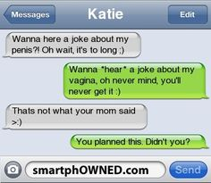 26 Creative Ways to Troll by Text - Autocorrect Fails and Funny Text Messages - SmartphOWNED The Awful Truth, The Bible Movie, Fandom Crossover, Text Fails, Guerilla Marketing, Can't Stop Laughing, Saturday Night Live, Word Of The Day, Funny Texts