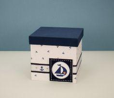 Regalo Para Bebé Ajuar Nacimiento En Caja C/sabana Y Frazada Baby Deco, Ceramic Boxes, Decoupage Box, Pintura Country, Explosion Box, Painted Boxes, Painting On Wood, Baby Room, Decorative Boxes