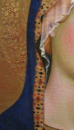 Simone Martini. Preziose trasparenze. Madonna. Orvieto. Museo dell'Opera del Duomo
