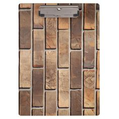 Bricks Clipboard ~ SOLD on Zazzle!