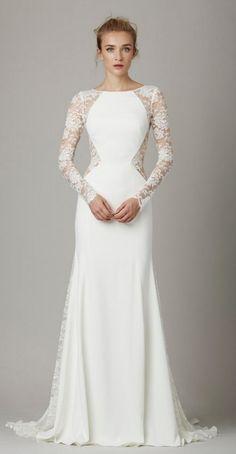 Featured Dress: Lela Rose; Wedding dress idea.