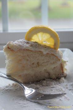 Copy Cat Olive Garden Lemon Cream Cake Recipe