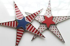 Betsy Ross Patriotic Stars and Stripes 4th of July by KurtKnudsen, $36.00