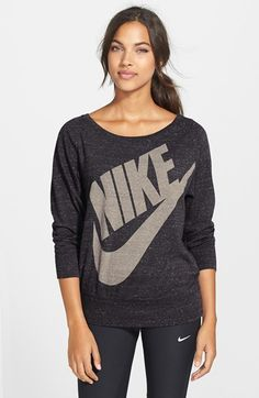 38e40c6e7279 Free shipping and returns on Nike  Gym Vintage  Logo Graphic Top at  Nordstrom.
