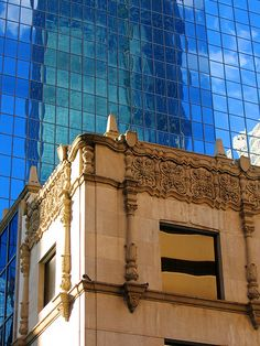 buildings -- old & new