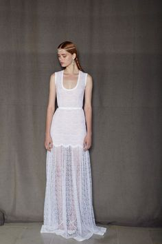 Alessandra Rich- not sure if this is meant to be a wedding dress, but it's painfully romantic