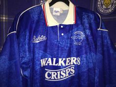 1990-92 Professional Player issue Leicester City shirt.