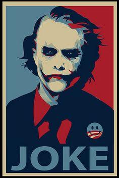 joker obama poster by BurakDonertas, via Flickr