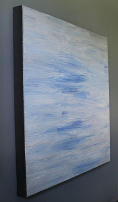Calm After the Storm Original Abstract Painting by lotsahappy, on Etsy!