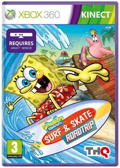 SpongeBob Surf and Skate Roadtrip - Kinect Compatible (Xbox 360) -   Grab your board. Carve it up! Hit the sand and surf with SpongeBob and his best pal, Patrick, for some super boarding escapades! Ride mondo waves and winding waterways, and skate gnarly seaside streets and ramps for hours of challenges that'll test your awesome boarding skills.  SpongeBob... - http://unitedkingdom.bestgadgetdeals.net/spongebob-surf-and-skate-roadtrip-kinect-compatible-xbox-360/ - http://un