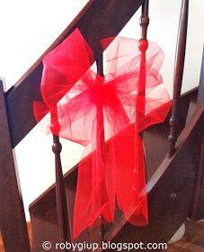 RobyGiup handmade: Fiocchi di tulle - Tulle bows