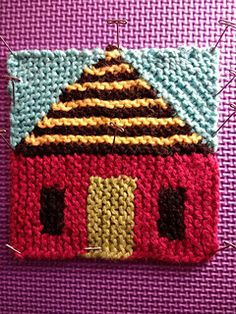 Baby Knitting Patterns, Knitting Stitches, Knitting Designs, Knitting Yarn, Knitting Projects, Crochet Projects, Plaid Crochet, Crochet Mittens, Baby Blanket Crochet