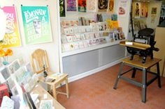 Kid Icarus, Kensington Market, Toronto, Canada. Local handmade (esp. stationery). Visited 1x, May 2012.