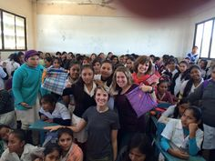 """Jenni and #DaysforGirls Utah gave out 1,000 kits in Bolivia and Peru! """"Yes, the girls absolutely loved the kits, when they got them. It broke our hearts, because for our first few classes, we didn't have the kits yet. They wanted them so badly. So it was great to go back and give them out."""""""