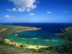 Hanauma Bay! Best snorkeling ever. Also where Elvis filmed Blue Hawaii!