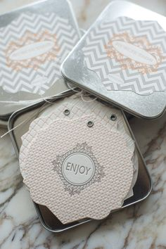 Tarjetas con relieve