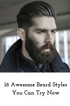 beard styles inspiration #beards #grooming #beard style
