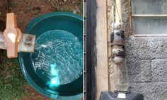 Vídeo ensina como ter água potável em casa sem depender do Governo