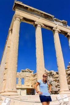 VIDA Statement Clutch - Acropolis, Greece by VIDA