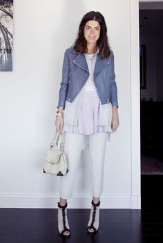 Lesson in Layering: Pastels | Man Repeller