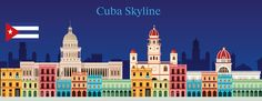 Cuba Skyline