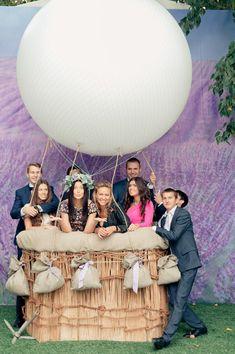 воздушные шары на свадьбе