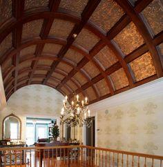 Image of: tin ceiling tiles design